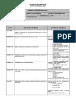 Planificacion 3º Leng-unidades 0 - 1 - 2