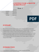 Will China continue to be growth market place.pptx