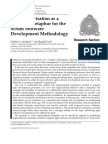 Software Process- Improvement and Practice Volume 13 Issue 5 2008 [Doi 10.1002_spip.385] Charles a. Suscheck; Randal Ford -- Jazz Improvisation as a Learning Metaphor for the Scrum Software Developm