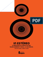 Libro; In ESTÉREO. La Industria de La Música Actual. Valor Económico y Social. El Caso México. Por Cristian Daniel Torres Osuna
