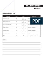 KrisMBT Training Week4 Day23