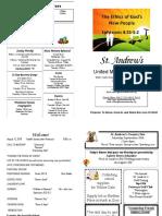 St Andrews Bulletin 081218