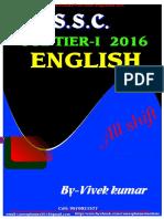 Ssc Cgl 2016 English