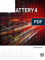 Battery 4 Manual German