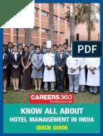 hotel management career guide