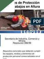 Presentacion Trabajo en Altura - Ing Hernan Acunia