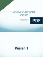 Morning Report 25 JULI