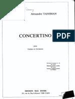 concertino para guitarra y orquesta - A Tansman002.pdf