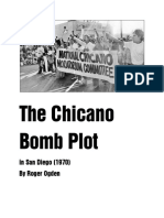 The Chicano Bomb Plot in San Diego (1970)