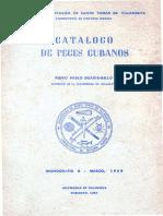 Catalogo de Peces