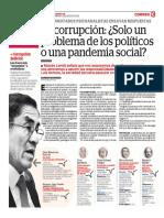 La Corrupción, Solo Un Problema de Los Políticos o Una Pandemia Social
