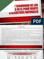 CALIDAD Y SEGURIDAD DE LAS VIVIENDAS EN EL PERÚ.pptx