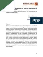 """LAS """"TRAMPAS"""" DE LA COMUNIDAD Y EL PODER DEL DESINTERÉS EN LA PERSPECTIVA DE BOURDIEU"""