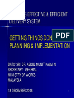 Getting Things Done - Planning & Implementation - BPCI 2008_0