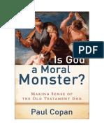¿Es Dios un mounstruo moral - Paul Copan.pdf