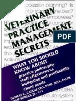 Veterinary Practice Management Secrets