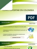 Como Exportar en Colombia