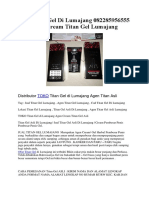 Jual Titan Gel Di Lumajang 082285956555 Agen Cream Titan Gel Lumajang