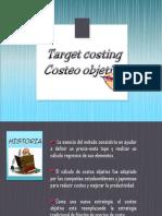 Diapositivas de Logistica Target Costing