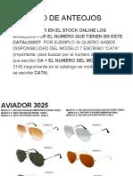 Nuevo Catalogo de Anteojos