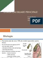 LITIAZA CAII BILIARE PRINCIPALE - Dr Barsan.pptx
