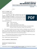 Butiran Maklumat Kertas Kerja Setiap Program