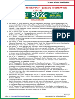 Current Affairs Weekly Pocket PDF 2018 - January(22-31) by AffairsCloud.pdf