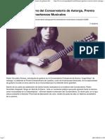 DIARIO DE ASTORGA, noticias a diario - Un alumno de guitarra del Conservatorio de Astorga, Premio Extraordinario de Enseñanzas Musicales.pdf
