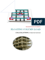Floating Load Calculation (Tributary Loading Method)