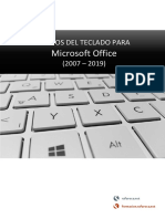Atajos del teclado para Office (2007 – 2019) · Word, Excel, Access, PowerPoint