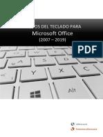 Atajos del teclado para Office (2007 – 2019) · Word, Excel, Access, PowerPoint