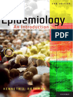 Epidemiology - An introduction