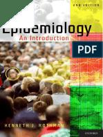 Epidemiology - An introduction