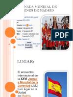 Jornada Mundial de Jovenes de Madrid Ayv