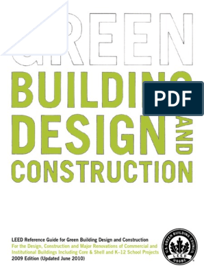 LEED BD+C 2009 Reference Manual | Leadership In Energy And ... David Clark H Wiring Diagram on