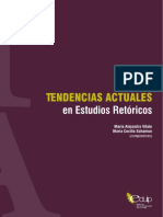 Tendencias Actuales en Estudios Retóricos