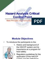 HACCP Generic