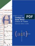 CCG 2010 Cantigas de Santa Maria Codice de Toledo