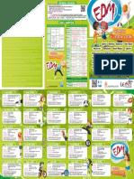 Programa Escuelas Deportivas Municipales 2015-16
