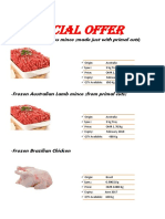 Foodsource Offer Chicken and Mince