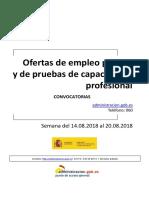 Boletin Convocatorias Empleo 2018