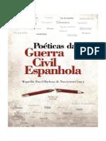 Poéticas Da Guerra Civil Espanhola