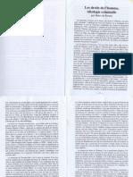 Henri de Fersan - Les droits de l'homme, ideologie criminelle (article de Lectures et Tradition nr. 297)