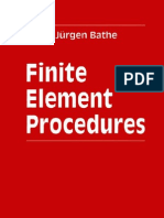 Elementos Finitos FEM - Finite Element Procedures - K.-j. Bathe - 1996