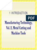 Mfg Tech Vol 2 Ed 2 Chapter 01 Introduction