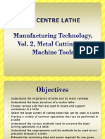 Mfg Tech Vol 2 Ed 2 Chapter 04 Centre Lathe