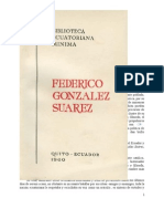 F. González Suárez. estudio historico de cañaris