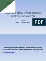 Clase 1 Bases Biológicas y Neurológicas Del Comportamiento Parte 1