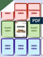 Pixel Tactics Colored Playmat