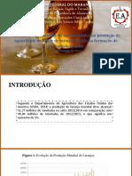 Obtenção de Aguardente de Liquor de Laranja OP3